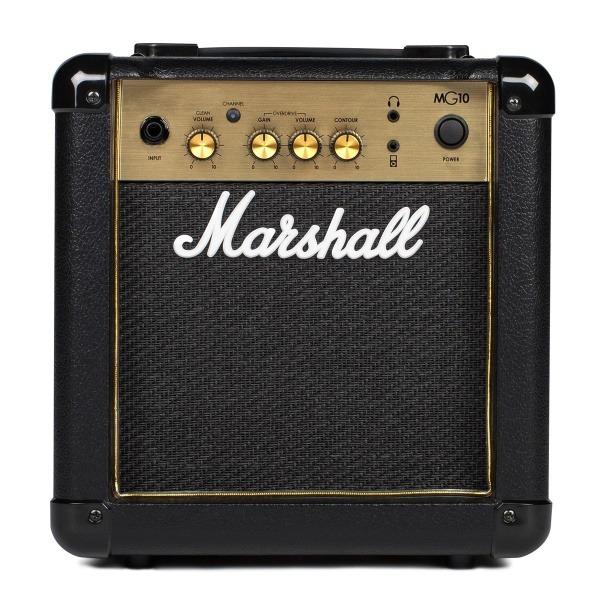 吉他音箱 Marshall Mg10 Gold 電吉他音箱 經典金色面板 10瓦 mg-10g / mg10g Marshall MG10G 電吉他音箱 經典金色面板(10瓦/10w)【MG-10G/電吉他音箱專賣店】