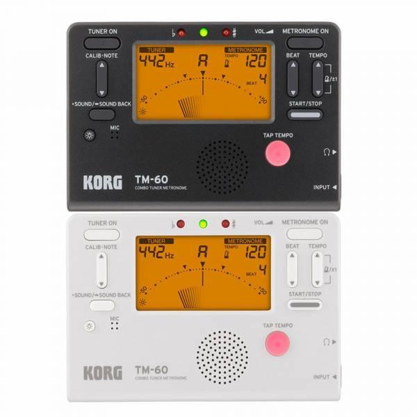調音節拍器 KORG TM60 全功能冷光調音/節拍器 TM-60 korg,tm60,tm-60,korg調音器,korg拍器,調音節拍器