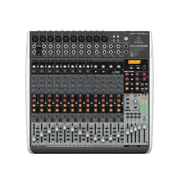 Behringer 耳朵牌 XENYX QX2442USB 24軌混音器【內建效果器/USB介面/原廠公司貨保固】