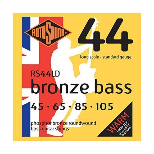 ROTOSOUND RS44LD 磷青銅 木貝斯弦 (45-105)【英國製/BASS弦/RS-44-LD】