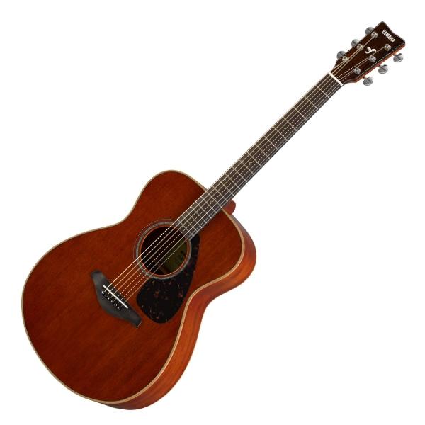 YAMAHA 山葉 FS850 41吋單板 全桃花心木 民謠吉他 原廠公司貨 附琴袋、背帶、移調夾、PICK【木吉他/FS-850】