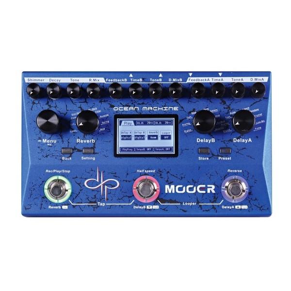 Mooer OM 雙延遲殘響效果器-Devin Townsend簽名款【Ocean Machine/原廠公司貨一年保固】
