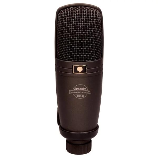 Superlux HO8 電容式麥克風【適用於銅鈸/人聲/吉他/中西弦樂/管樂/爵士鼓】