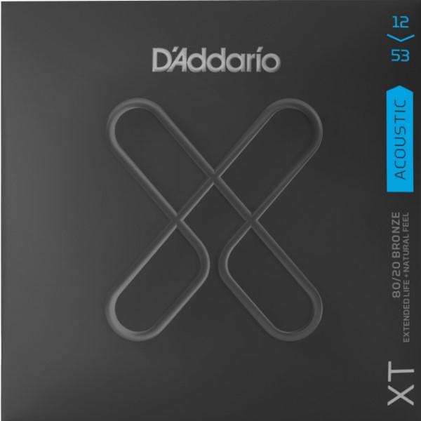 美國 D'Addario XTABR1253 (12-53) 民謠吉他弦【XTABR-1253/木吉他弦專賣店/DAddario】