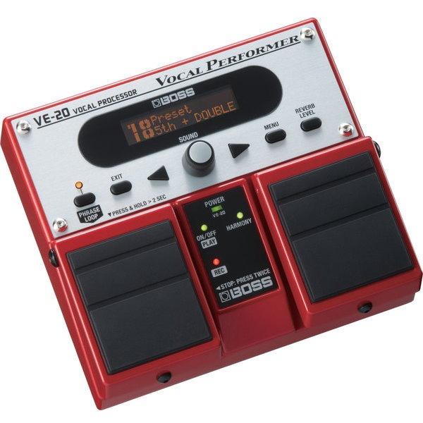 BOSS VE-20 Vocal Performer 歌唱用人聲效果器