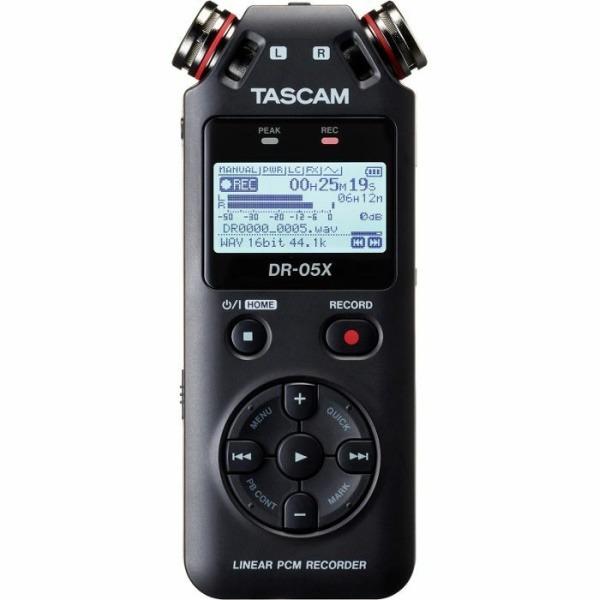 Tascam DR-05x 新版 攜帶型數位錄音機 dr05x 錄音筆 / 可當USB麥克風/錄音卡用 公司貨 TASCAM,tascam,dr-05,dr05,dr-05x,DR05X,錄音筆,錄音機,usb麥克風