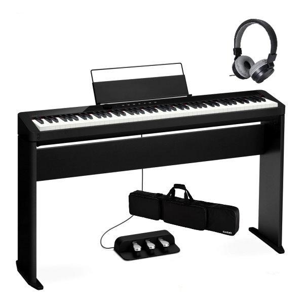 Casio PX-S1000 黑色 電鋼琴 含原廠腳架 / 三音踏板 / 琴袋 88鍵 PXS1000 台灣 卡西歐 公司貨 Casio 卡西歐,pxs-1000 琴架,pxs1000 琴架, PX-S1000 88鍵 數位鋼琴/電鋼琴 藍牙音樂功能 附木質琴架(CS-68P)+三音踏板(SP-34)+專用琴袋(SC800P)