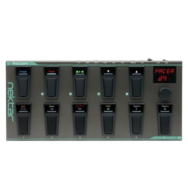Nektar Pacer Midi 踏板控制器 原廠公司貨【Hands-free DAW and MIDI Control】 Nektar Pacer Midi 踏板控制器 原廠公司貨【Hands-free DAW and MIDI Control】