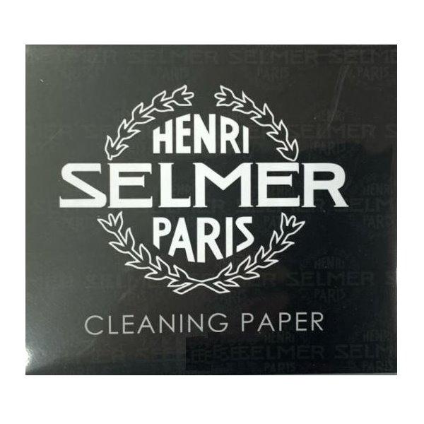 SELMER 管樂 吸水紙 (CLEANING PAPER)適合薩克斯風/長笛/豎笛/銅管樂器,預防皮墊受潮