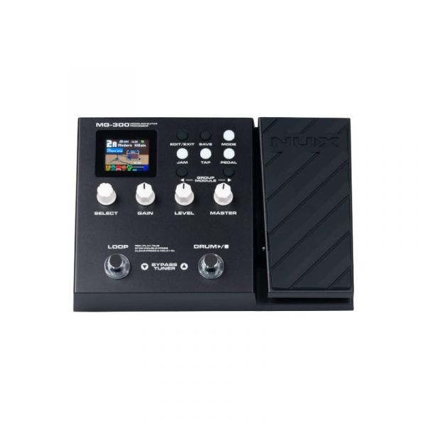 NUX MG300 綜合效果器 贈變壓器 附中文說明書【音箱模擬/數位錄音/台灣公司貨一年保固/MG-300】