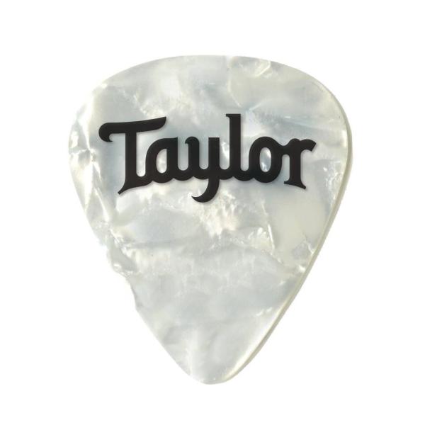 Taylor Celluloid White Pearl 進口原廠彈片 Pick【厚度:0.46mm/0.71mm/0.96mm】