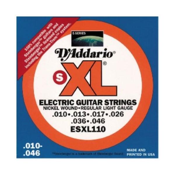 D'Addario ESXL110 電吉他弦(10-46)(無琴頭專用弦)【吉他弦專賣店/進口弦/ESXL-110/DAddario】