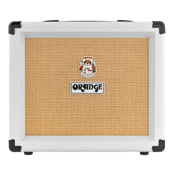 Orange 限量版 CRUSH 20 20瓦電吉他音箱 50週年白色紀念款【音箱專賣店/英國大廠品牌/橘子音箱/CR20L新款】
