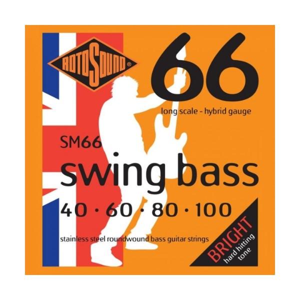 ROTOSOUND SM66 電貝斯弦 (40-100)【英國製/BASS弦/SM-66】
