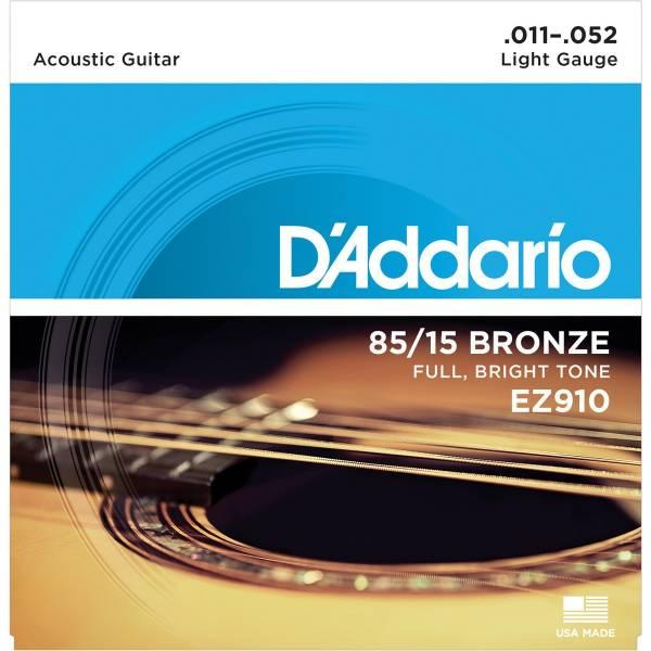 D'Addario EZ910 吉他弦 11-52 民謠 吉他弦 木吉他弦 d'addario ez900 EZ910