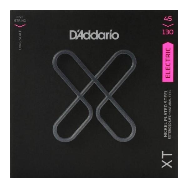 美國 DAddario XTB45130 5弦電貝斯弦 (45-130)【XTB-45130/木吉他弦專賣店】