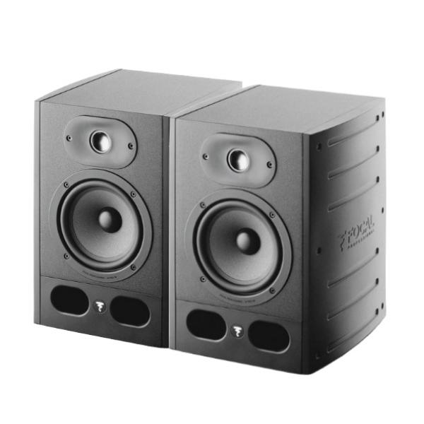 Focal Alpha50 主動式監聽喇叭/5吋錄音室專用【黑色/一對兩顆/台灣公司貨保固/Alpha-50】