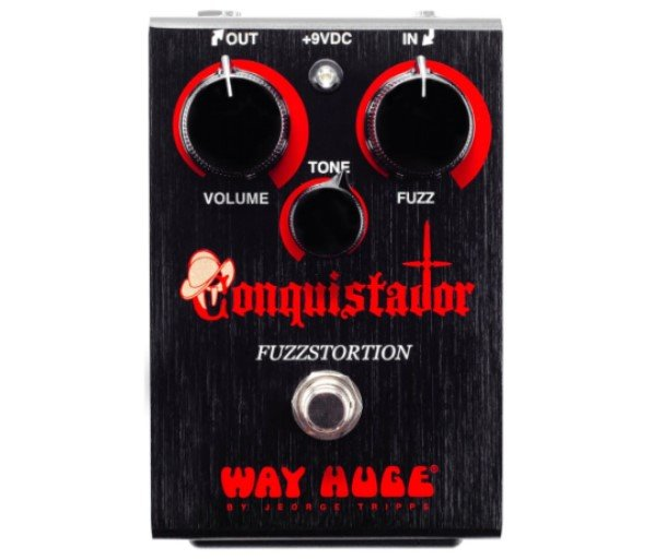 Dunlop WHE406 法茲破音效果器【Fuzz/Conquistador/Way Huge/WHE-406】