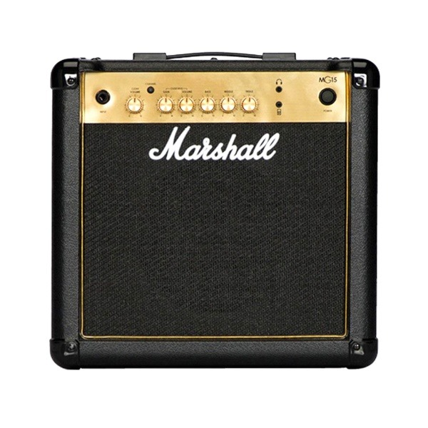 吉他音箱 Marshall Mg15 Gold 電吉他 音箱 經典金色面板 15瓦 / 15w 吉他音箱 Marshall MG15G 電吉他音箱 經典金色面板(15瓦/15w)【MG-15G/電吉他音箱專賣店】