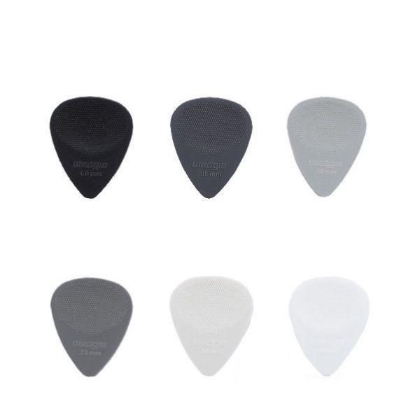 Wedgie Pick 防滑吉他彈片 6片裝 / 一組 (6種不同厚度)
