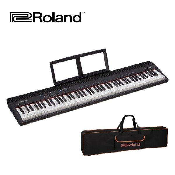 電鋼琴 Roland Go Piano 88鍵 數位鋼琴 贈原廠 Roland琴袋 / 延音踏板 / 台灣公司貨 GO88P Roland 樂蘭 GO:PIANO 88 88鍵 全音域電鋼琴/數位鋼琴 附原廠配件 原廠一年保固 附延音踏板【GO-88P】