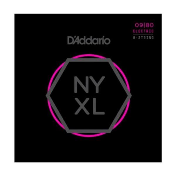 美國 DAddario NYXL-0980 (09-80) 8弦電吉他弦【NYXL0980/吉他弦專賣店/DAddario】