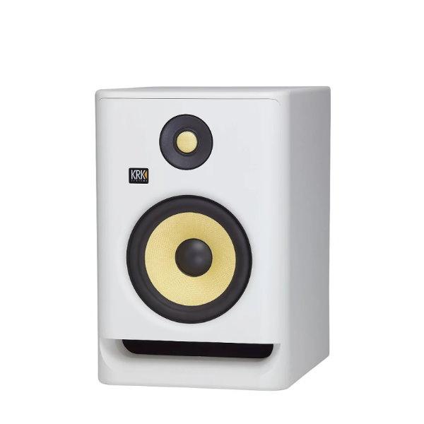 KRK Rokit RP5G4 主動式監聽喇叭 5吋錄音室專用 白色/單一顆 台灣公司貨 krk,KRK RP5G4,RP5G4,監聽喇叭,小新樂器館,樂器館,小新吉他館,錄音室,krk 監聽喇叭,5吋喇叭