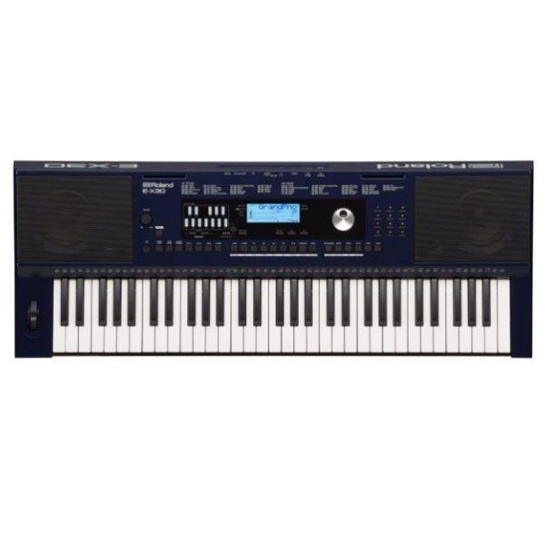 【預購】Roland 樂蘭 E-X30 61鍵 電子琴 附變壓器、中文說明書、譜板【原廠公司貨保固/琴鍵具力度感應/EX30】