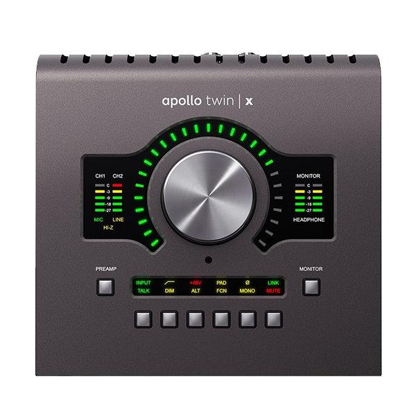 Universal Audio Apollo Twin X Duo/Her 錄音介面 PC/MAC 台灣總代理公司貨保固【THUNDERBOLT 3 介面】