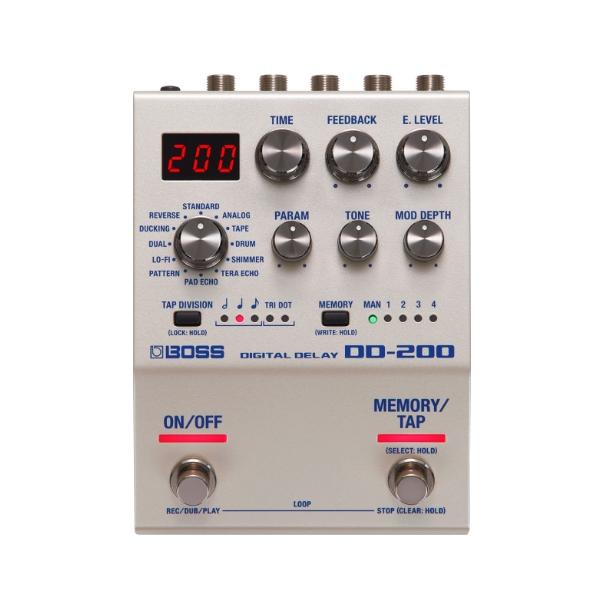 Boss DD-200 數位延遲效果器 Digital Delay 原廠公司貨 一年保固