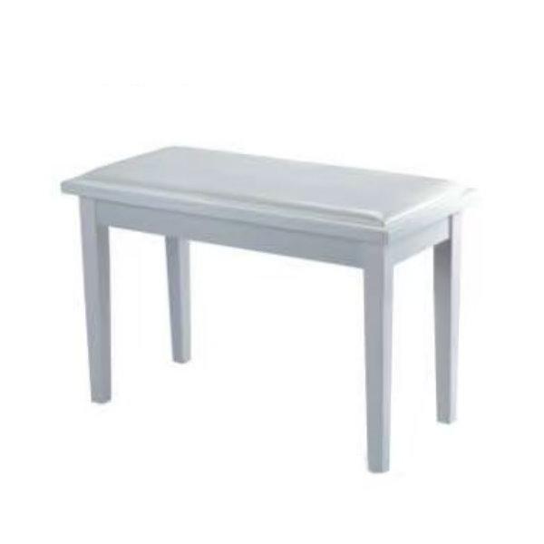 PIANO BENCH 雙人鋼琴椅 PJ001 白色 電鋼琴椅/電子琴椅/piano琴椅/Keyboard椅 鋼琴椅