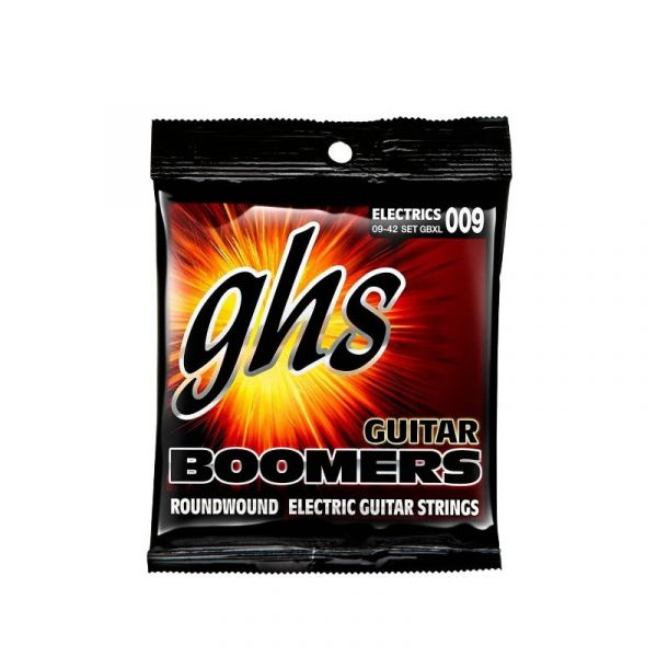 GHS Boomers Set GBXL 電吉他弦 (09-42)【美國製/電吉他弦/Set-GBXL】