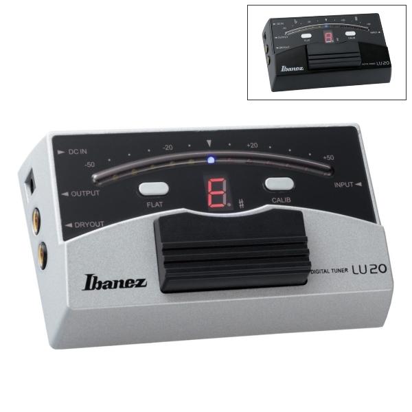 Ibanez LU20 踏板式 全頻調音器【電吉他/貝斯/電木吉他/電小提琴皆適用】