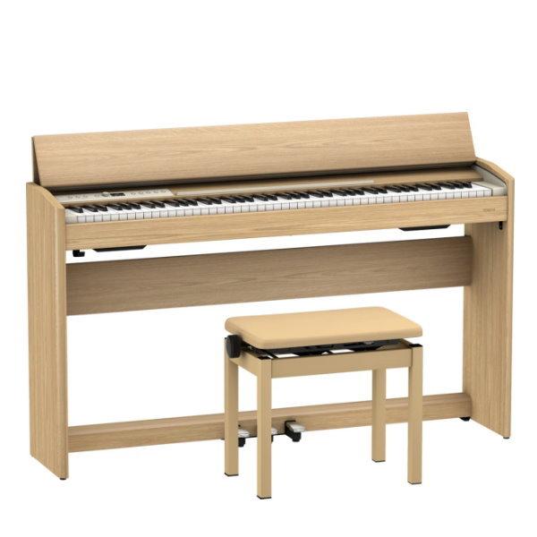 【預購】Roland F701 電鋼琴 88鍵 / 掀蓋式 淺橡木色 附 原廠琴架 / 踏板 / 鋼琴椅 f701,roland f701,FP30x,FP-30x,fp30,roland fp30,roland fp-30x