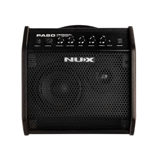Nux PA50 電子琴/電子鼓 專用音箱 50瓦【PA-50/人聲/吉他/貝斯/各種樂器皆適用】