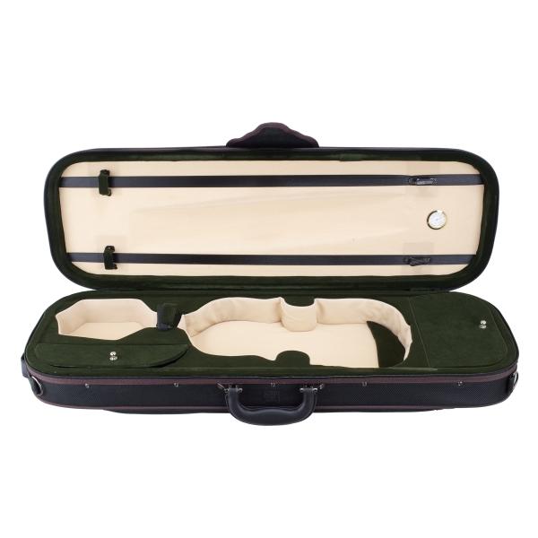 小提琴琴盒 內附濕度計 雙肩背 可放置肩墊/松香/兩支弓【小提琴盒/Vilolin CASE】