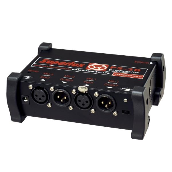 Superlux PS2B 幻象電源供應器 採用2顆9V電池或12VDC輸入【12V/48V切換選擇】 Superlux PS2B 幻象電源供應器 採用2顆9V電池或12VDC輸入【12V/48V切換選擇】