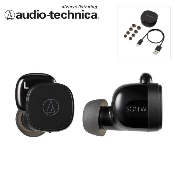 鐵三角 ATH-SQ1TW 真無線耳機 / 藍牙耳機 黑 Audio-Technica 台灣公司貨 sq1tw,真無線耳機,藍牙耳機,藍芽耳機,鐵三角耳機,鐵三角 無線,athsq1,ath-sq1tw,鐵三角 無線耳機