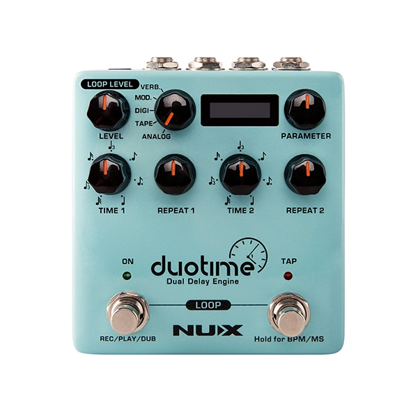 NUX Duotime Delay 真立體聲 延遲效果器 NDD-6【內建5種延音色】