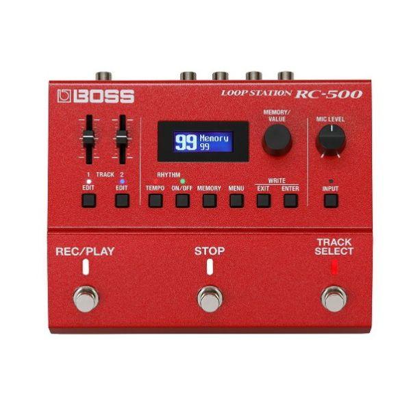 Boss RC-500 Loop Station 樂句循環工作站【RC500/效果器/Roland/吉他/貝斯/數位錄音】