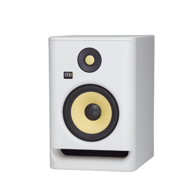 KRK Rokit RP7G4 主動式監聽喇叭 7吋錄音室專用 白色/單一顆 台灣公司貨 krk,KRK RP7G4,RP7G4,監聽喇叭,小新樂器館,樂器館,小新吉他館,錄音室,krk 監聽喇叭,5吋喇叭