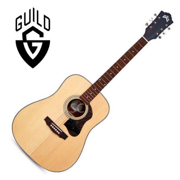 Guild D-340 雲杉面單板 / 桃花心木 側背板 附 Guild 原廠吉他厚袋 guild吉他