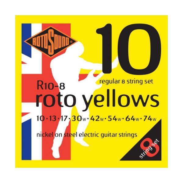 ROTOSOUND R10-8 8弦電吉他弦 (10-74)【英國製/吉他弦/R-10-8】