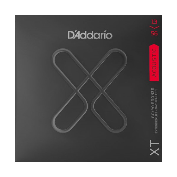 美國 D'Addario XTABR1356 (13-56) 民謠吉他弦 【XTABR-1356/木吉他弦專賣店/DAddario】