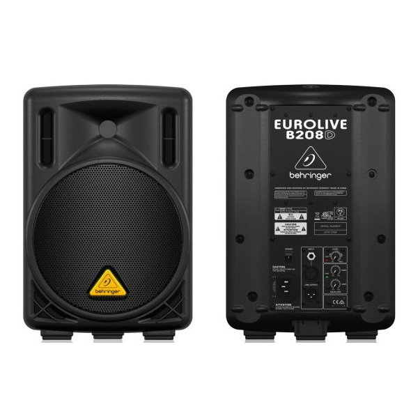 Behringer B208D 8英吋 主動式 2路外場喇叭 200W (單一顆)