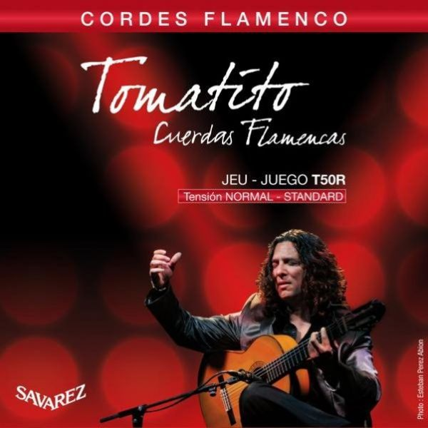 Savarez T50R Tomatito 佛朗明哥弦 中張力 古典吉他弦 法國製【T-50R】