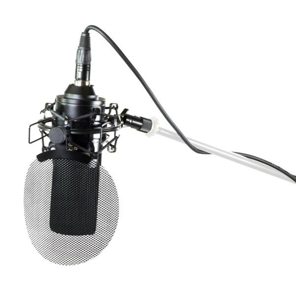 美國品牌 MXL 770X 電容式麥克風套組 (麥克風指向:心形/8字型/全指向) 含避震架/口水罩/6公尺麥克風線