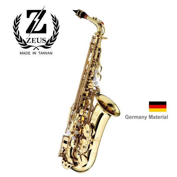 Zeus ZA-580L 宙斯 頂級德國銅製 中音 Alto 薩克斯風 / 原銅薩克斯風 附贈 薩克斯風盒 / 配件 台灣台中后里製造 zeus,zeus宙斯,台灣薩克斯風,alto,台中后里薩克斯風,za580l,z-a580l