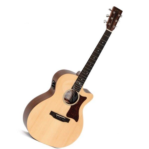 Sigma 吉他 GMC-STE + 新款電木吉他/41吋切角單板民謠吉他 ( GMC STE + / 雲杉面單板/G型桶身/切角) 附贈吉他袋【源自Martin製琴工藝】台灣總代理公司貨