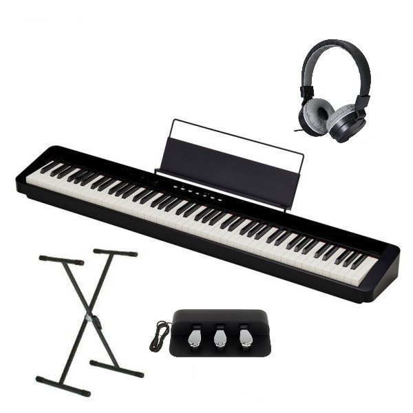 Casio PX-S1000 電鋼琴 88鍵 黑色 卡西歐 PXS1000 贈 台灣製 X琴架 / 三音踏板 / 耳罩式耳機 Casio PX-S1000,pxs1000,卡西歐 psx1000, 電鋼琴